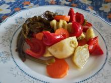 Country-Style Pickle with Bell Peppers
