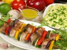 Lamb Skewers with Peppers