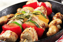 Turkey Skewers
