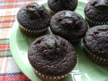 Chocolate Muffins with Jam
