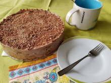 Chocolate-Biscuit Cake with Sour Cream