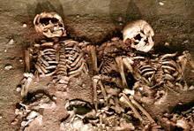 Uncovered Remains of a Couple in Love from the Bronze Age