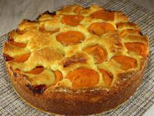 Homemade Cake with Apricots