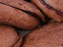 Homemade Double Chocolate Cookies