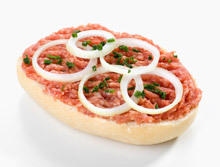 Sandwich with Mince