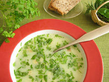 Lamb Soup With Herbs
