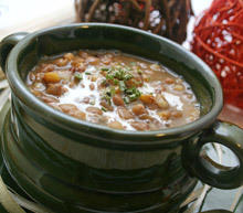 Lentil Soup with Smoked Meat