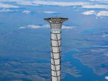 Architects to Build a Tower Reaching the Stratosphere for Astronauts
