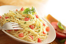 Succulent Spaghetti with Vegetables