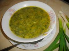 Spinach Soup with Thickening Agent
