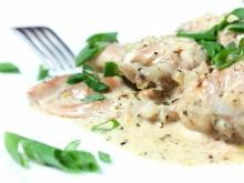 Christmas Rabbit with Cream Sauce