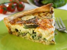 French Summer Pie with Zucchini