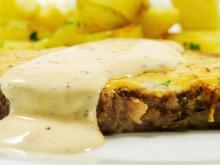 Pork Chops with White Sauce