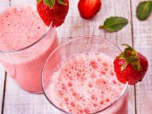 Strawberry Shake with Yoghurt