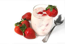 Fruity Cream with Cottage Cheese