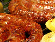 Marinated Grilled Sausage