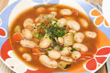 Bean Soup with Onions