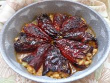 Stuffed Dried Peppers with White Beans