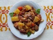 Roast Pork with Vegetables