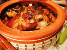Pork Shank in a Clay Pot