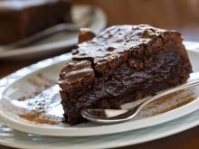 Fine Chocolate Cake with Coffee