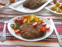 Veal Mince Schnitzels