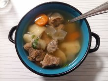 Tasty Veal Stew with Vegetables