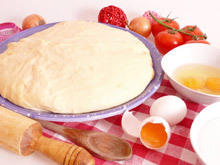 Dough for a Thin and Crispy Pizza
