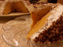 Rich Pumpkin Cake