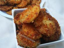 Crunchy Zucchini with Parmesan