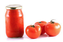 Pureed Tomatoes and Peppers