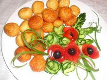 Feta Cheese and Cheese Balls
