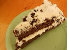 Yummy Chocolate Cake with Cream