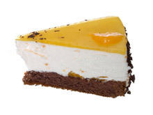 Vanilla Cream Pie with Apricots