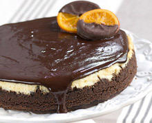 Black Magic Cake with Oranges