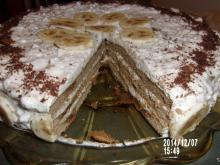 Cake for Diabetics with Bananas
