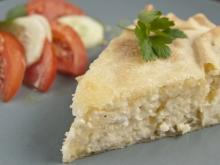 Potato Pie with Sheep Cheese