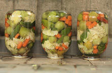 Country-Style Pickle with Salt-Only Brine