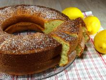 Turkish Cake with Lemon Rind