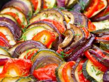 Vegetable Ragout with Zucchini and Eggplants