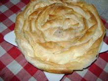 Rolled Cheese Pastry with Feta
