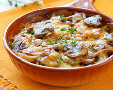 Ligurian Mushrooms with Potatoes
