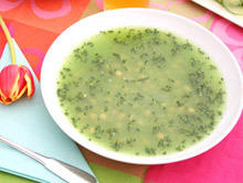 Colorful Porridge with Nettle