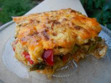 Vegetable Moussaka with Two Types of Peppers