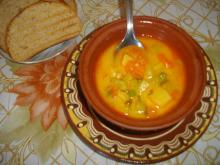 Vegetable Soup with Zucchini
