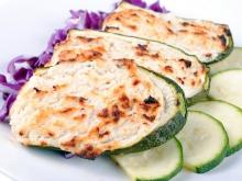 Oven-Baked Zucchini with Eggs and Cheese
