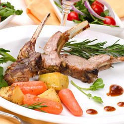 Provincial style Fried Lamb Chops