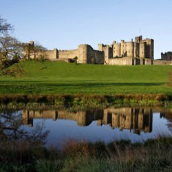 Rhone River France - Alnwick Castle in England