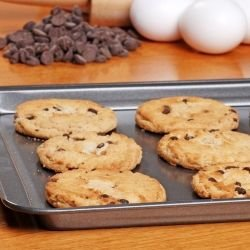 Biscuits with Chocolate Chips and Nuts