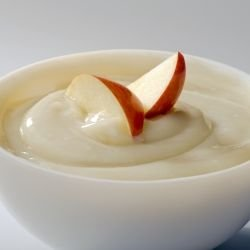 Apple Mousse with Vanilla